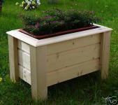 Holz Pflanzkasten Maße 120x40x40 cm CLASSIC imprägniert SchwibboLa