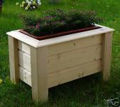 Holz Pflanzkasten Maße 90x30x30 cm CLASSIC imprägniert SchwibboLa