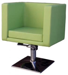 1217 Friseurstuhl Figaro MASSA-2 grün - Vorschau 1