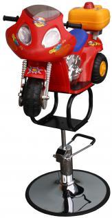 1311 Kinder-Friseurstuhl Motorrad rot