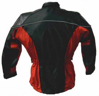 Damen-Tourenjacke STREET-CYCLE schwarz-rot - Vorschau 3
