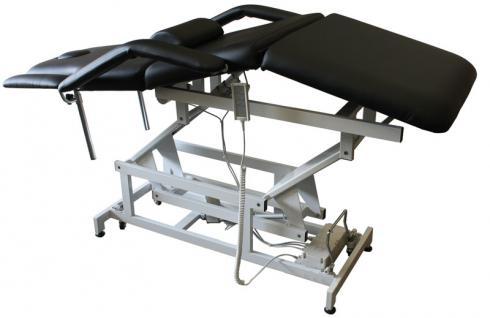 1600 elektrische Behandlungsliege 3-teilig schwarz - Vorschau 3
