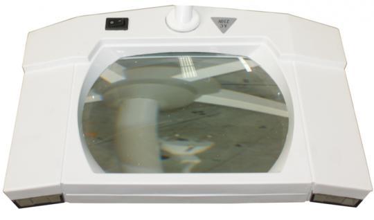 2007 Lupenlampe mit Stativ weiß - Vorschau 2
