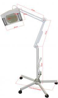 2007 Lupenlampe mit Stativ weiß - Vorschau 3
