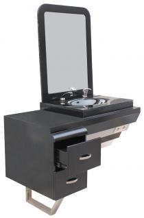 2028 System-Arbeitsplatz ORISTANO (Erweiterungsmodul +1) Schleiflack schwarz