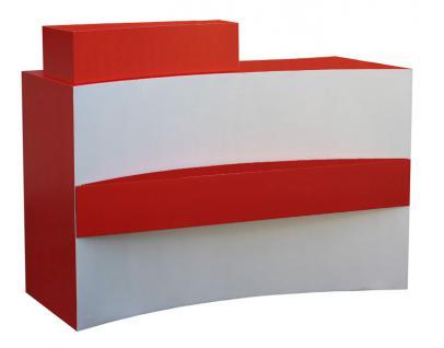 2036 Rezeption FRASCATI Schleiflack rot - Vorschau 1