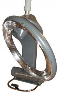 1955 IR-Climazon rotierend 1300W digital Wandarm silbergrau - Vorschau 2