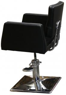1164 Frisierstuhl GENOVA schwarz - Vorschau 4