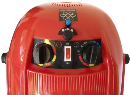 1946 Trockenhaube 1100W 3-Regler antistatic 5-Arm Stativ rot - Vorschau 3