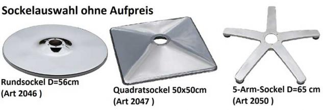 1369 Frisierstuhl ASSISI (PVC 39 schwarz+175-2 creme) - Vorschau 2