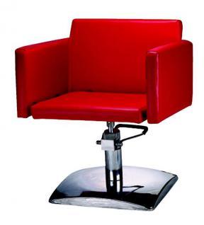 1162 Frisierstuhl Figaro MILANO rot - Vorschau 1