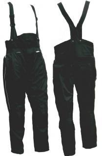 TrägerMotorrad Stiefelhose KOMFORT schwarz