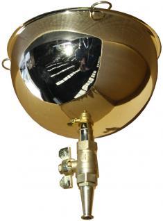 1569 Ayurveda-Ölgussbehälter Shirodhara 2, 2 Liter gold - Vorschau 1
