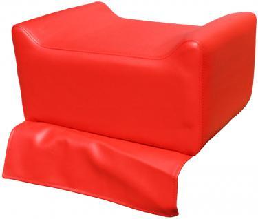 1313 Kinder-Sitzerhöhung für Frisierstuhl rot - Vorschau