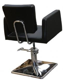 1164 Frisierstuhl GENOVA schwarz - Vorschau 3