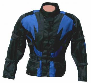 Tourenjacke FLAME schwarz-blau