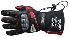 Motorrad-Handschuh XTREME-2 schwarz-rot