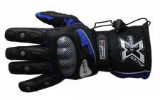 Motorrad-Handschuh XTREME-2 schwarz-blau