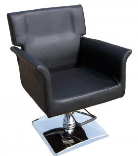 1171 Friseurstuhl Figaro LATINA schwarz - Vorschau 1