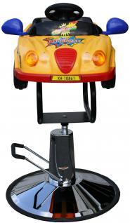 1301 Kinder-Friseurstuhl Auto gelb