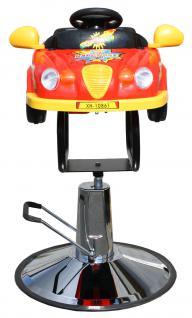1301 Kinder Friseurstuhl Auto rot - Vorschau 1