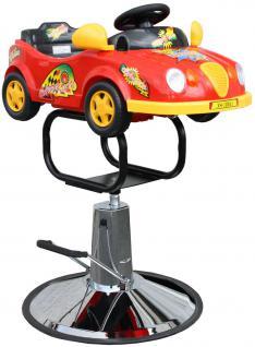 1301 Kinder Friseurstuhl Auto rot - Vorschau 2