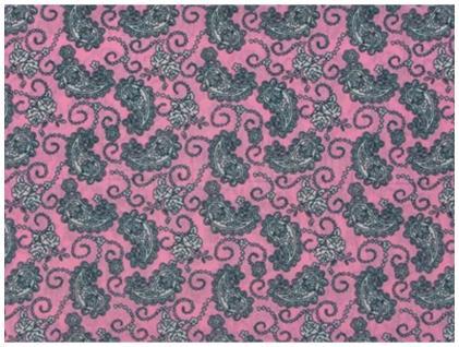 Multifunktionstuch rosa grau Paisley gemustert - Tuch - Schal - Schlauchtuch