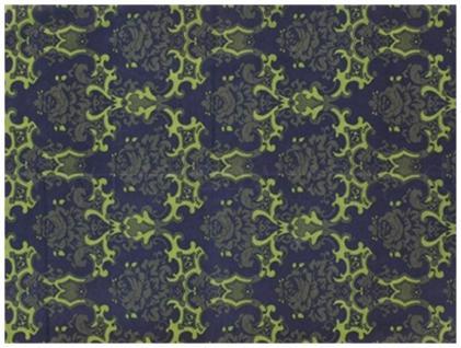 Multifunktionstuch dunkelblau marine grün Ornamente - Tuch - Schal -Schlauchtuch