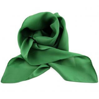 schönes Damenhalstuch grün leuchtgrün einfarbig - Tuch Halstuch Schal