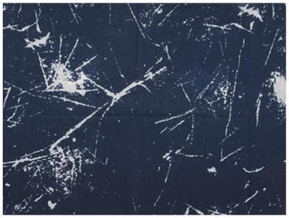Multifunktionstuch marine dunkelblau grau gemustert -Tuch - Schal - Schlauchtuch