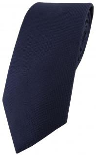 Blick. elementum Seidenkrawatte marine navy Punktstruktur - Krawatte 100% Seide