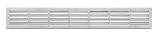sockelsichtschutzgitter l ftungsgitter massiv edelstahl l ftung 80mm x 550mm kaufen bei ms. Black Bedroom Furniture Sets. Home Design Ideas