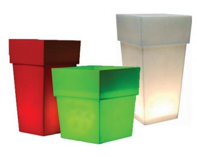 leucht blumentopf blumenk bel modell star h he 100 cm wei kaufen bei ms beschl ge. Black Bedroom Furniture Sets. Home Design Ideas