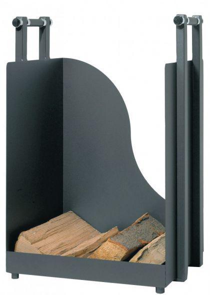 holzkorb kaminholzkorb kaminholz holzwiege holzwagen anthrazit b h t 40 57 36 cm kaufen bei ms. Black Bedroom Furniture Sets. Home Design Ideas