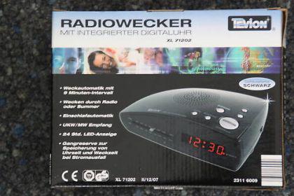 Radiowecker XL 71202 - Vorschau