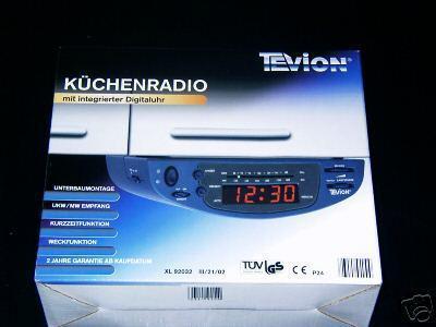Küchenradio XL92032 - Vorschau