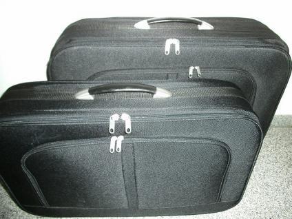 Reißverschluss-Kofferset 2tlg. - Vorschau