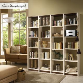 Regal Bücherregal Anbauregal individuell planbar Kiefer massiv geölt - Vorschau 1
