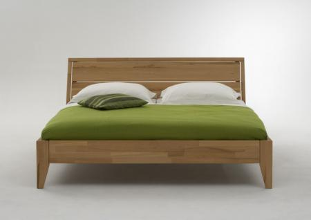 Bett Doppelbett Kernbuche massiv geölt Bettsystem Massivholz Variantenvielfalt - Vorschau 1
