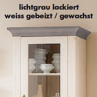 Esstisch Esszimmertisch Tisch 120x78 cm Landhausstil Kiefer massiv - Vorschau 2