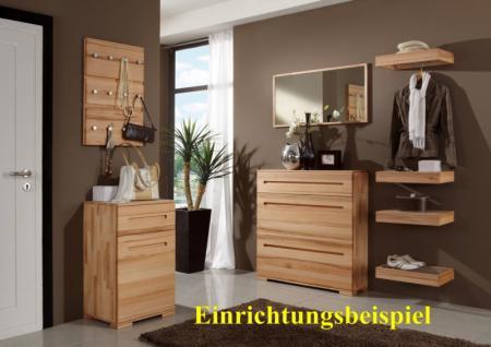 garderobe wandgarderobe ablage kernbuche massiv kaufen. Black Bedroom Furniture Sets. Home Design Ideas