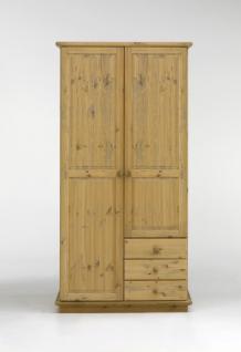 kleiderschrank schrank schlafzimmerschrank kiefer massiv. Black Bedroom Furniture Sets. Home Design Ideas