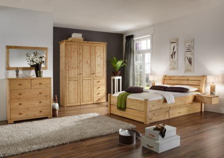komplett schlafzimmer massiv g nstig online kaufen yatego. Black Bedroom Furniture Sets. Home Design Ideas