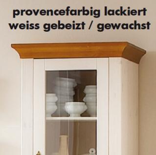 Kleiderschrank Wäscheschrank Schrank Kinderzimmer 2-türig Landhaus Kiefer massiv - Vorschau 3
