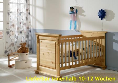 Babybett Sprossenbett Kinderbett Bett Landhausstil Kiefer massiv