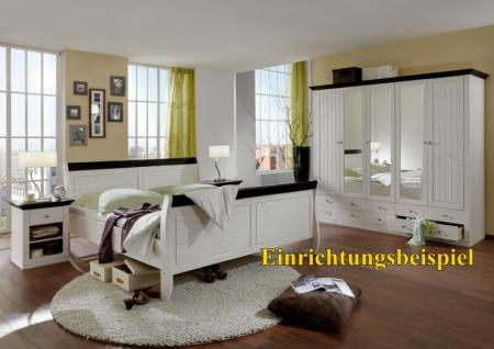 Kleiderschrank Schrank Schlafzimmerschrank Kiefer massiv - Vorschau 3