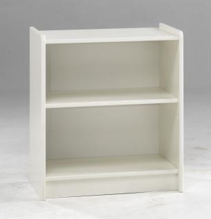 Kinderzimmer Set MDF weiß lackiert Hochbett Bett Schreibtisch Regal Kombi - Vorschau 4