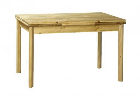 Tisch Esstisch Einlegeplatten Kiefer massiv Esszimmer Küchentisch