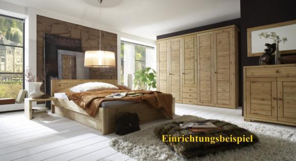 Kleiderschrank Schrank Schlafzimmerschrank 5türig Kiefer massiv - Vorschau 3
