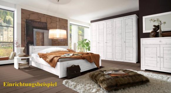 Kleiderschrank Schrank Schlafzimmerschrank 5türig Kiefer massiv - Vorschau 2